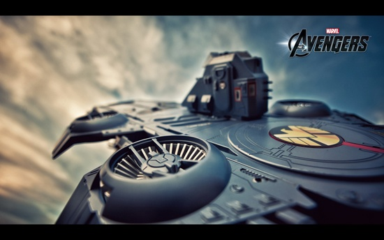 Marvel's The Avengers S.H.I.E.L.D. Helicarrier from the Hasbro collection