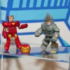Iron Man and Rhino Minimates from Diamond Select Toys