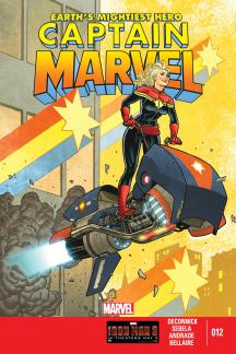 Captain Marvel (2012) #12