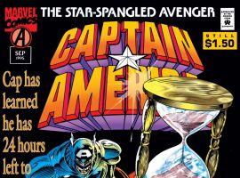 Captain America (1968) #443 Cover