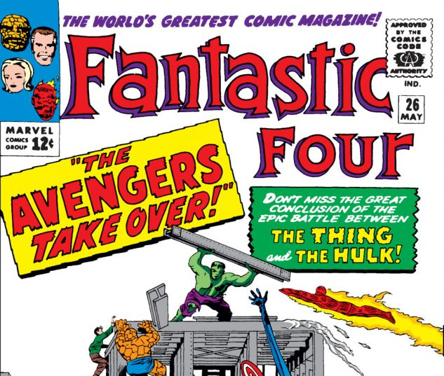 Fantastic Four (1961) #26 Cover