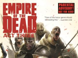 cover from George Romero's Empire of the Dead: Act Three (2015)