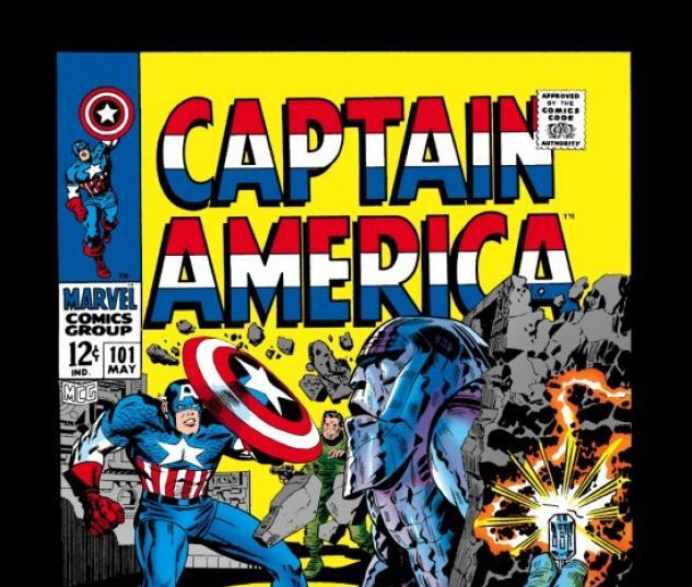 CAPTAIN AMERICA #101 COVER