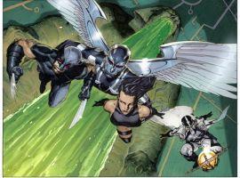 Image Featuring Archangel, Fantomex, Psylocke, Wolverine
