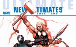 ULTIMATE COMICS NEW ULTIMATES: THOR REBORN PREMIERE HC cover by Frank Cho
