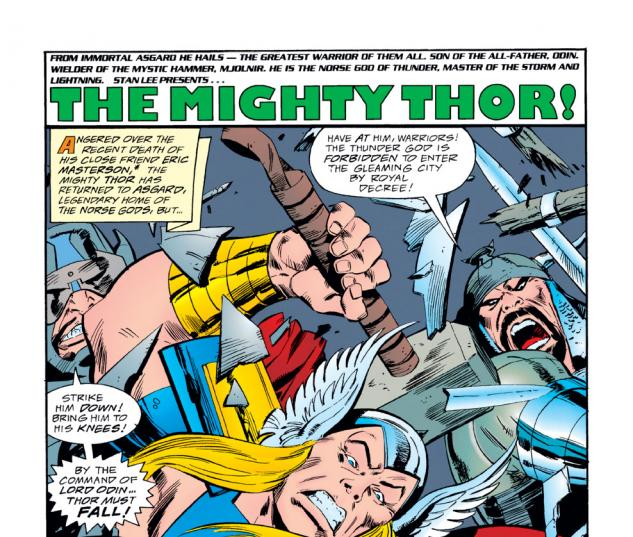 Thor (1966) #490 Cover