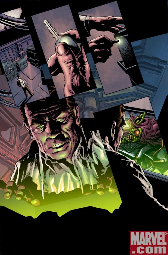 THUNDERBOLTS #120 preview art by Mike Deodato
