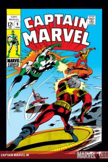 Captain Marvel (1968) #9