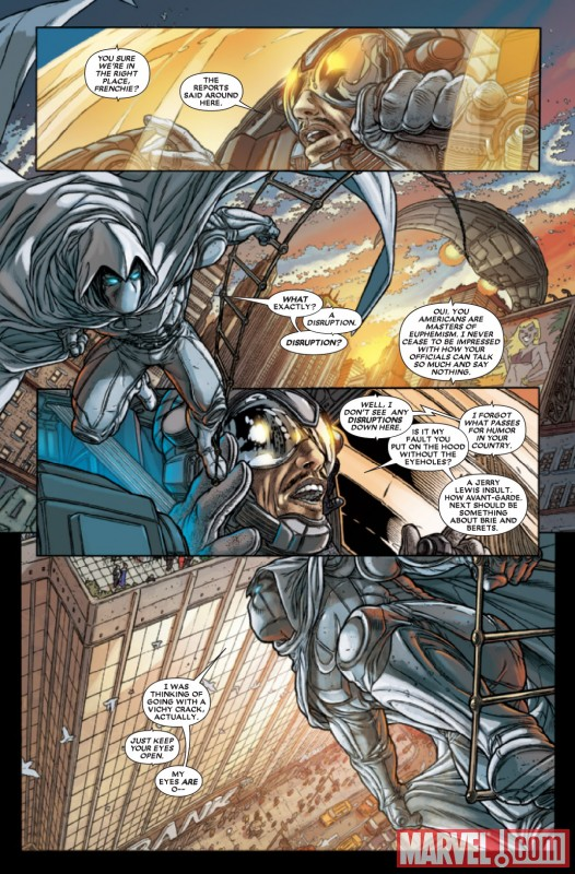 VENGEANCE OF THE MOON KNIGHT #9 preview art by Juan Jose Ryp