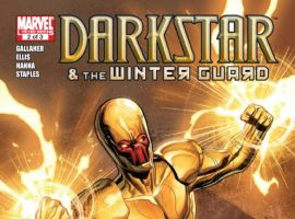 DARKSTAR AND THE WINTER GUARD #2 cover by Steve Ellis