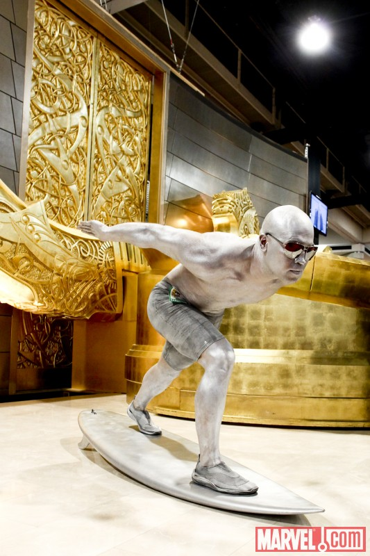Marvel Cosplay Photo Op - Silver Surfer