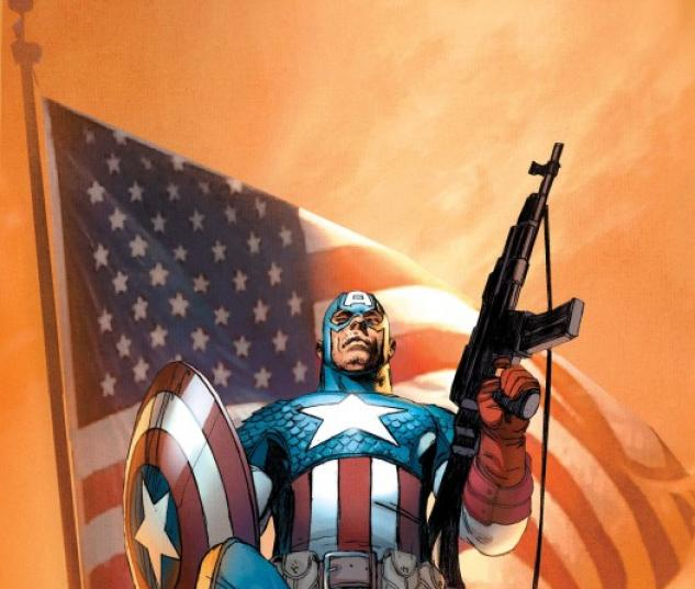 Ultimate Comics Captain America #1 cover Ron Garney