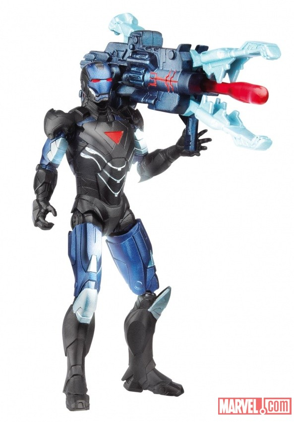 Avengers Power-Up Mission Figure Iron Man wave 2