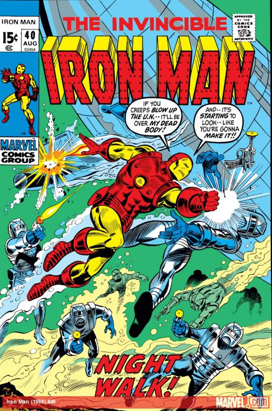 Iron Man (1968) #40