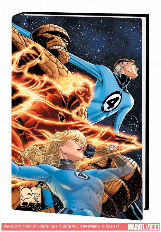 FANTASTIC FOUR BY JONATHAN HICKMAN VOL. 5 PREMIERE HC