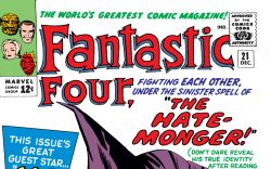 Fantastic Four (1961) #21 Cover