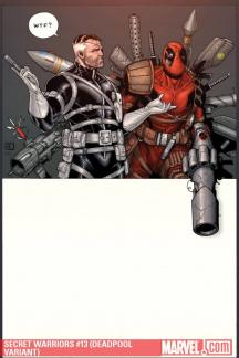 Secret Warriors (2008) #13 (DEADPOOL VARIANT)