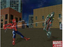 Spider-Man vs. a thug