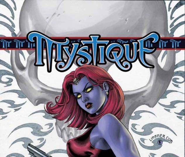 MYSTIQUE VOL. 1: DEAD DROP GORGEOUS TPB COVER