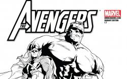 Avengers (2010) #17 Architect Sketch Variant