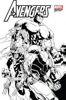 Avengers (2010) #17 (Architect Sketch Variant)