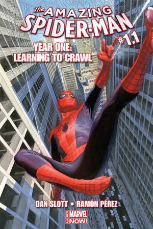 Amazing Spider-Man: #1.1 cover by Alex Ross