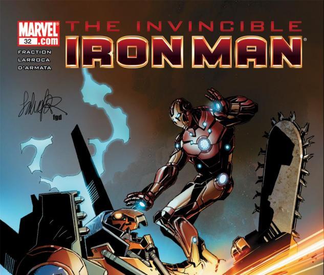 Invincible Iron Man (2008) #32