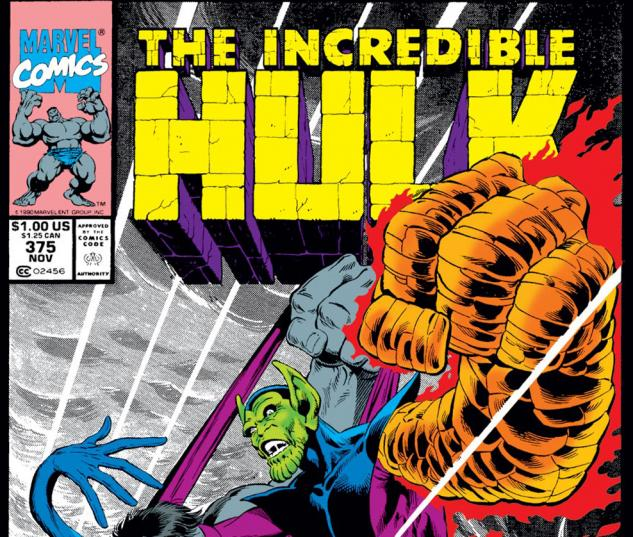 Incredible Hulk (1962) #375 Cover
