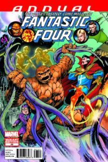 Fantastic Four Annual (2010) #1 (Davis Variant)