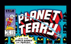 Planet Terry (1985) #3 Cover
