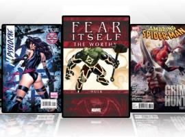 Marvel iPad/iPod App: Latest Titles 5/25/11