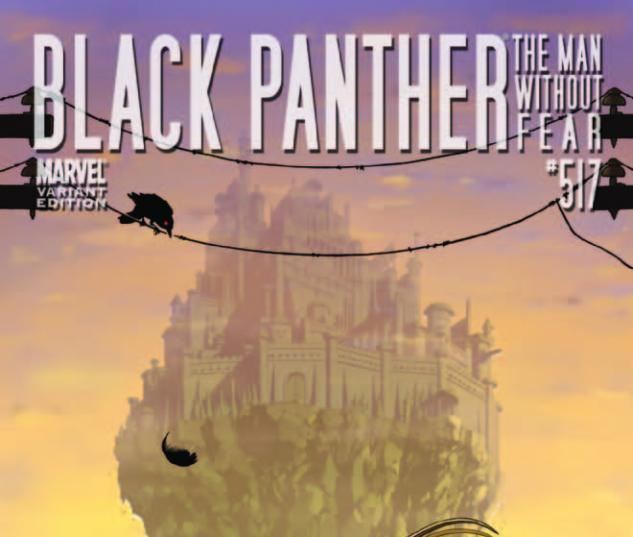 Black Panther: The Man Without Fear (2010) #517, THOR HOLLYWOOD VARIANT