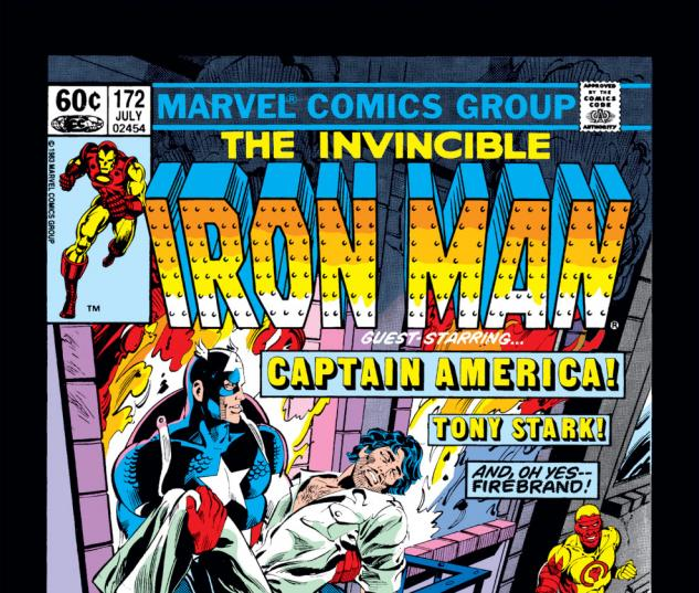Iron Man (1968) #172 Cover