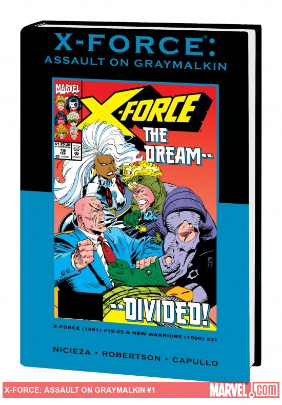 X-FORCE: ASSAULT ON GRAYMALKIN PREMIERE HC VARIANT (DM ONLY)