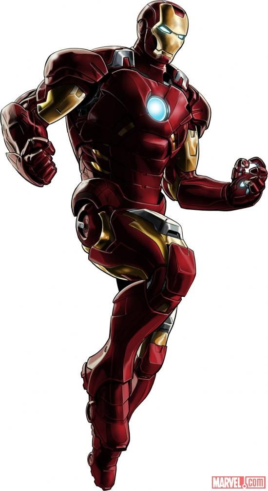 Iron Man (Marvel's The Avengers alternate costume) in Marvel: Avengers Alliance