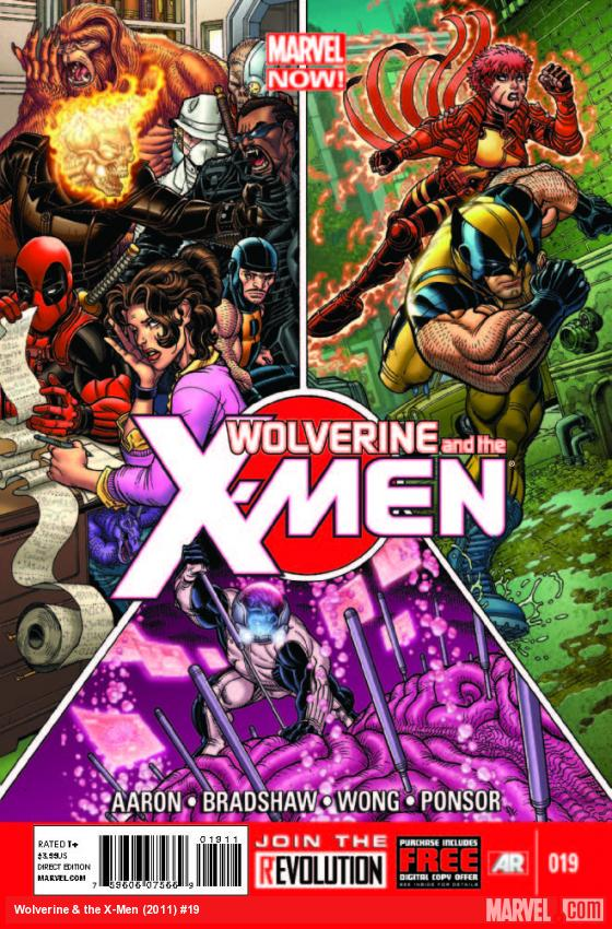 WOLVERINE & THE X-MEN 19 (WITH DIGITAL CODE)
