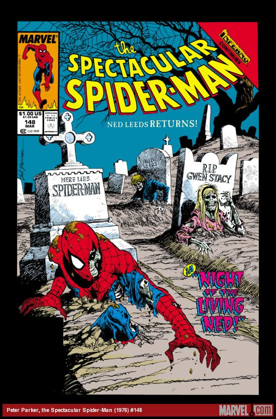 Peter Parker, the Spectacular Spider-Man (1976) #148 Cover