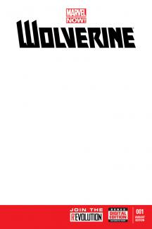 Wolverine (2013) #1 (Blank Cover Variant)