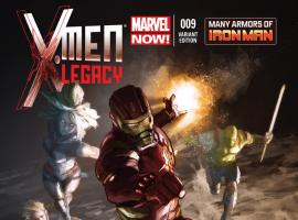 X-MEN LEGACY 9 IRON MAN MANY ARMORS VARIANT (NOW, 1 FOR 20)