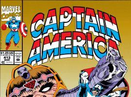 Captain America (1968) #413 Cover