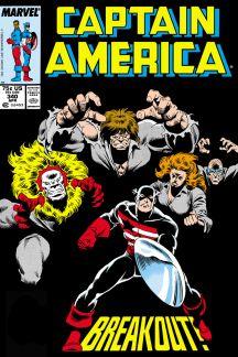 Captain America #340