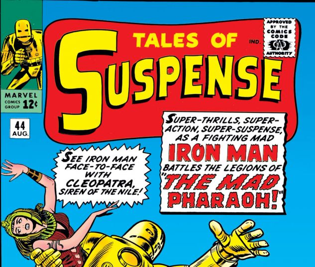 Tales of Suspense (1959) #44 Cover