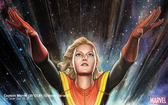 Captain Marvel (2012) #1 (Granov Variant)