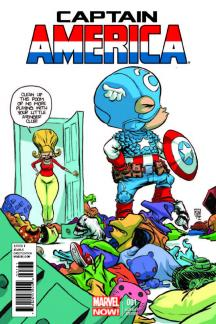 Captain America #1  (Young Variant)