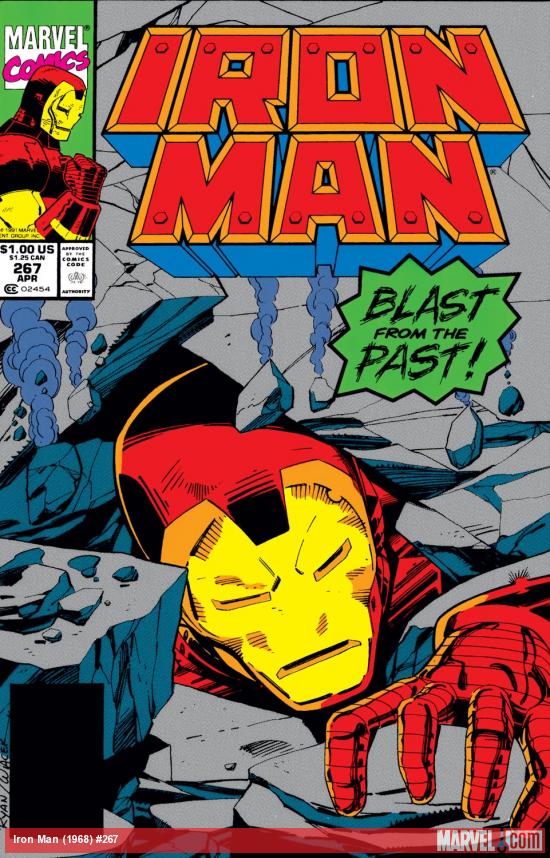 Iron Man (1968) #267 Cover