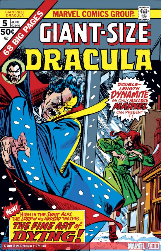 Giant-Size Dracula (1974) #5 Cover