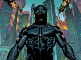 Black Panther #1 cover by Brian Stelfreeze