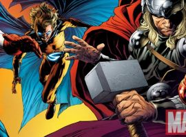 Image Featuring Captain America, Iron Man, Sentry (Robert Reynolds)