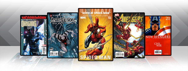 Marvel iPad/iPod App: Latest Titles 6/22/11
