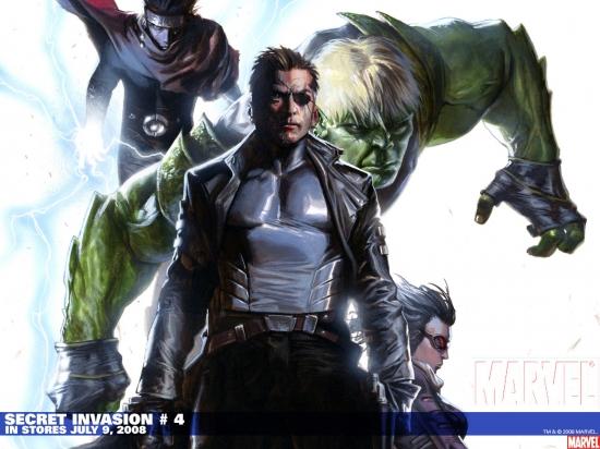 Secret Invasion (2008) #4 (YU VARIANT) Wallpaper